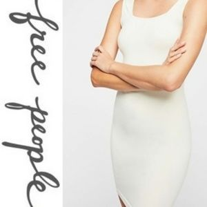 Free People Square Neck Seamless Slip Dress M/L